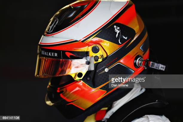 Stoffel Vandoorne of Belgium and McLaren Honda prepares to drive in the garage during practice for the Canadian Formula One Grand Prix at Circuit...