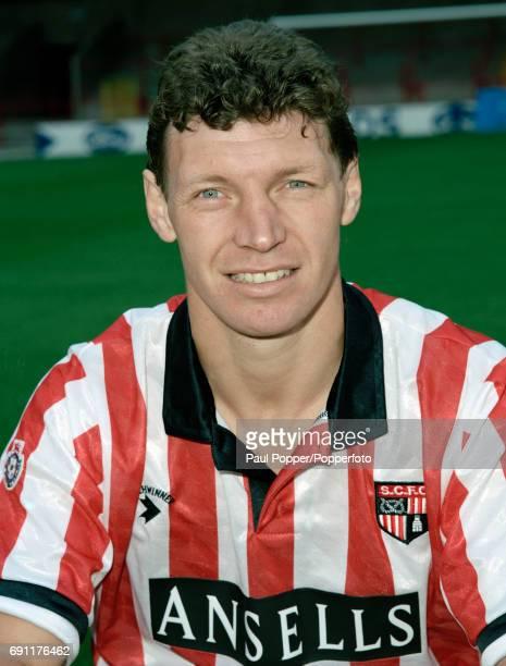 Stoke City footballer Ian Cranson circa August 1991