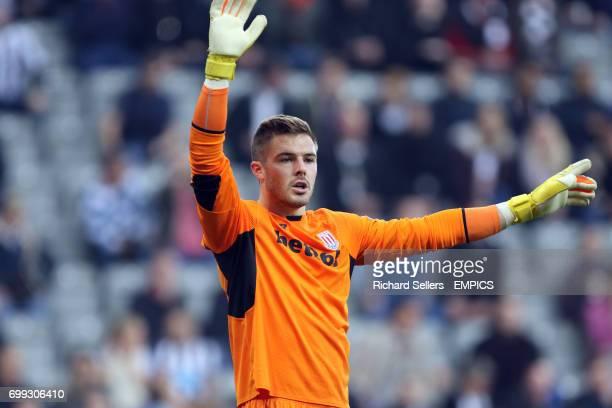 Stoke City goalkeeper Jack Butland