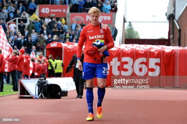Stoke City goalkeeper Jakob Haugaard