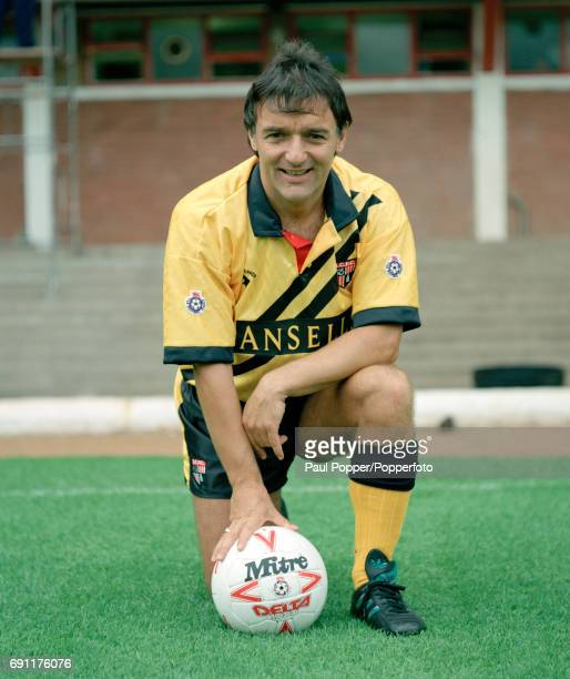 Stoke City manager Lou Macari at the Victoria Ground in StokeonTrent circa August 1991