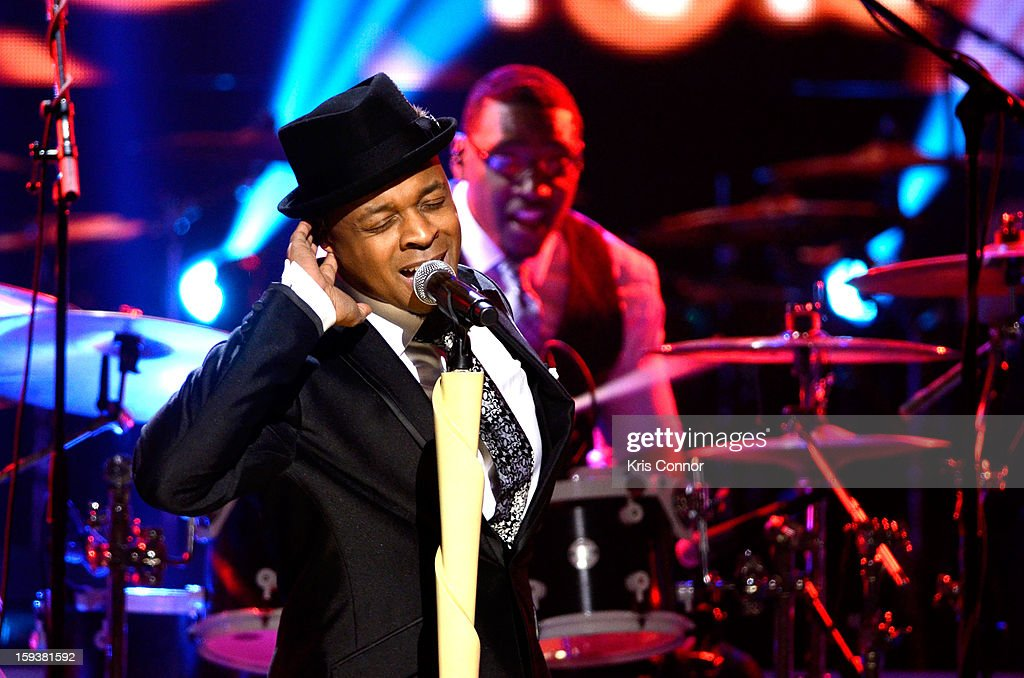 Stokley Williams of Mint Condition performs at BET Honors 2013 at Warner Theatre on January 12, 2013 in Washington, DC.