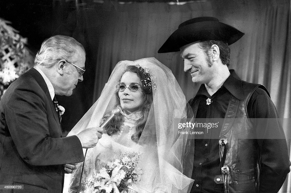 Stompin' Tom Connors marries Lena Welsh on Luncheon Date. Photo taken by Frank Lennon/Toronto Star Nov. 2, 1973.