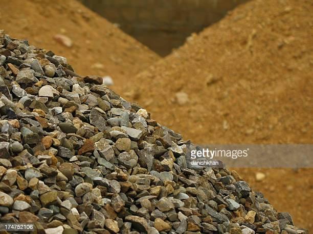 Stone et sable