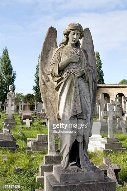 Stone Angel on Grave