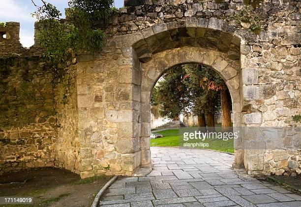 Arco de pedra em Évora