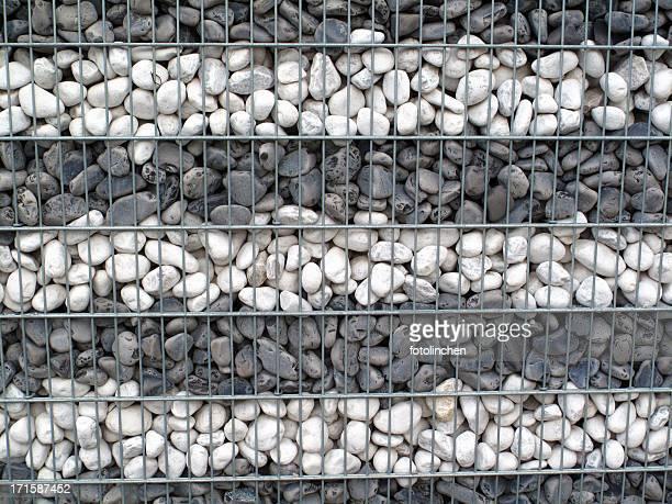 Stone background - Gabionen