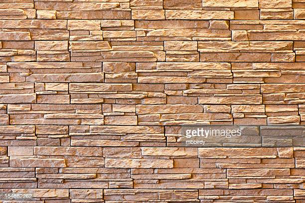 Stone block wall background