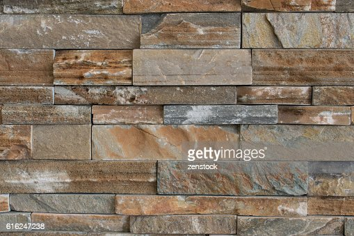 Stone brick texture wall background : Foto stock