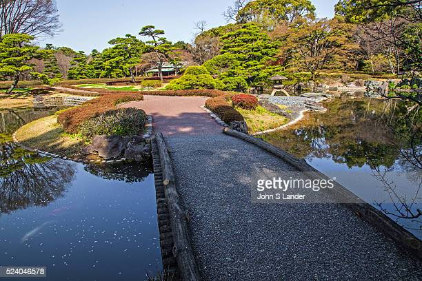 Stone Bridge at Ninomaru Imperial Palace East Gardens made up of the Honmaru and Ninomaru areas of Edo Castle None of the Edo Castle buildings remain...
