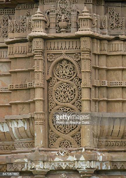 Stone carvings at Juma Masjid