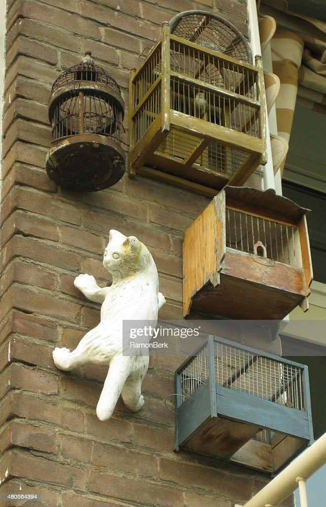 stone cat : Stock Photo