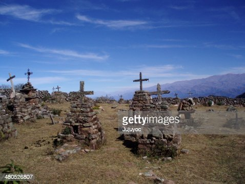Cementerio de piedra : Stock Photo