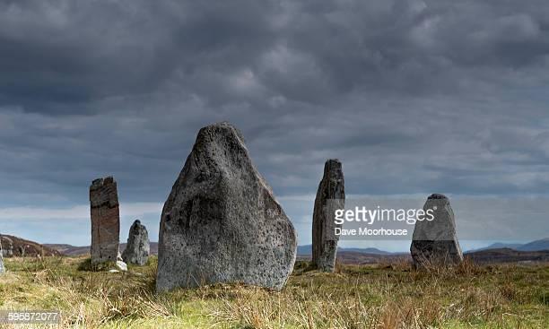 Stone circle, isle of Lewis