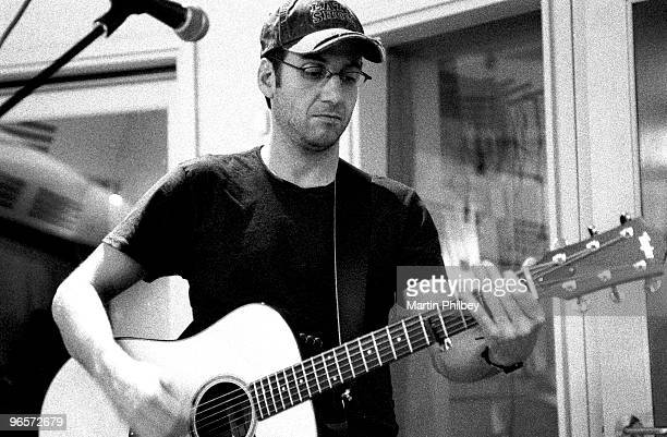 Stone Gossard of Brad in Woodstock Studios on 28th December 2002 in St Kilda Victoria Australia