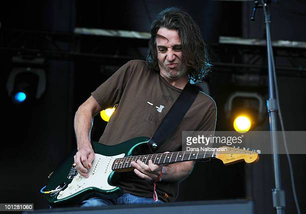Stone Gossard of Brad performs at Sasquatch Festival at the Gorge Amphitheater on May 29 2010 in George Washington