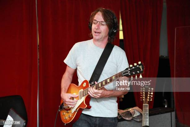 Stone Gossard of Brad performs on Pearl Jam Radio at SiriusXM Studio on May 24 2012 in New York City