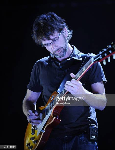 *EXCLUSIVE* Stone Gossard of Pearl Jam performs at Madison Square Garden on June 24 2008 in New York City