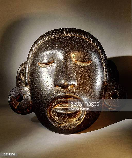 Stone mask of Xipe Totec the Flayed Lord dressed in the skin of a sacrificial victim In the festival of Tlacaxipeualiztli a sacrificial victim was...