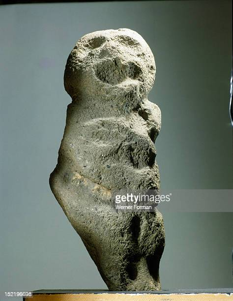 A stone mauri probably placed by growing sweet potatoes or groups of forest trees to hold the life force of the plants New Zealand Maori