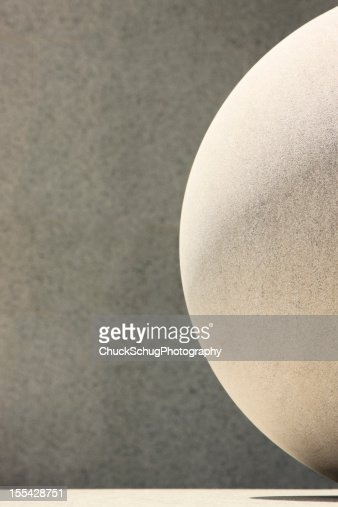 Stone Sphere Shape Abstract