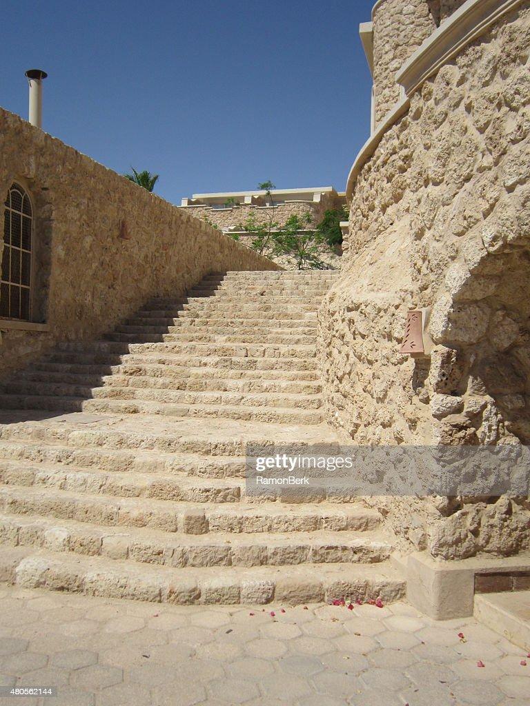 stone stairs : Stock Photo