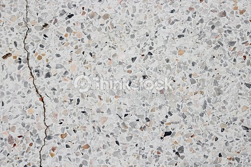 Stone Texture Terrazzo Floor Background Stock Photo