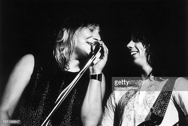 Stone the Crows perform on stage UK Maggie Bell Jimmy McCulloch