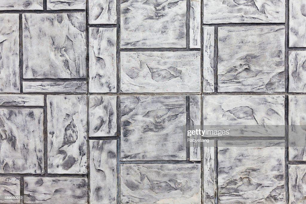 Di piastrelle in pietra texture asfalto marciapiedi backg