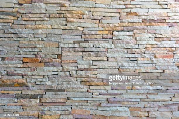 Stone Wall, Bangkok, Thailand