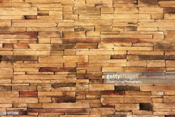 Mur de pierres Matériau de Construction