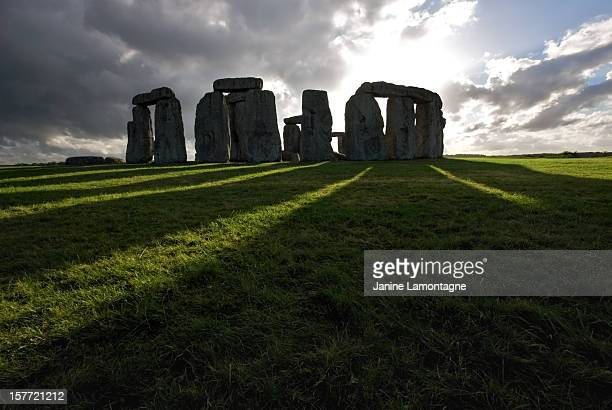 Stonehenge and shadows