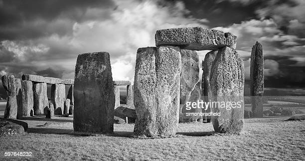 Stonehenge In Black & White
