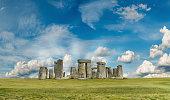 Stonehenge - a prehistoric monument in Salisbury, UK