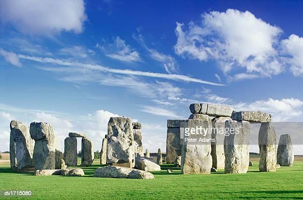 Stonehenge, Salisbury Plain, Wiltshire, England