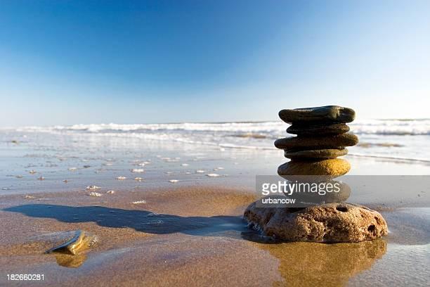 Steine auf dem Strand