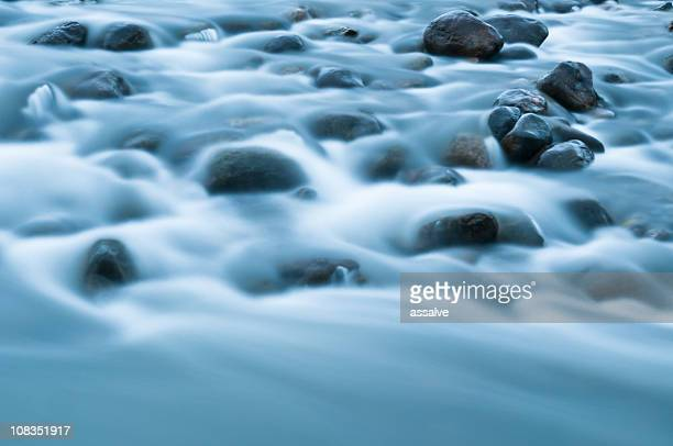 stones stands in river
