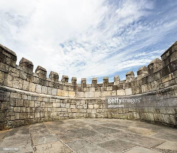 «Stonewalled», entouré de murs