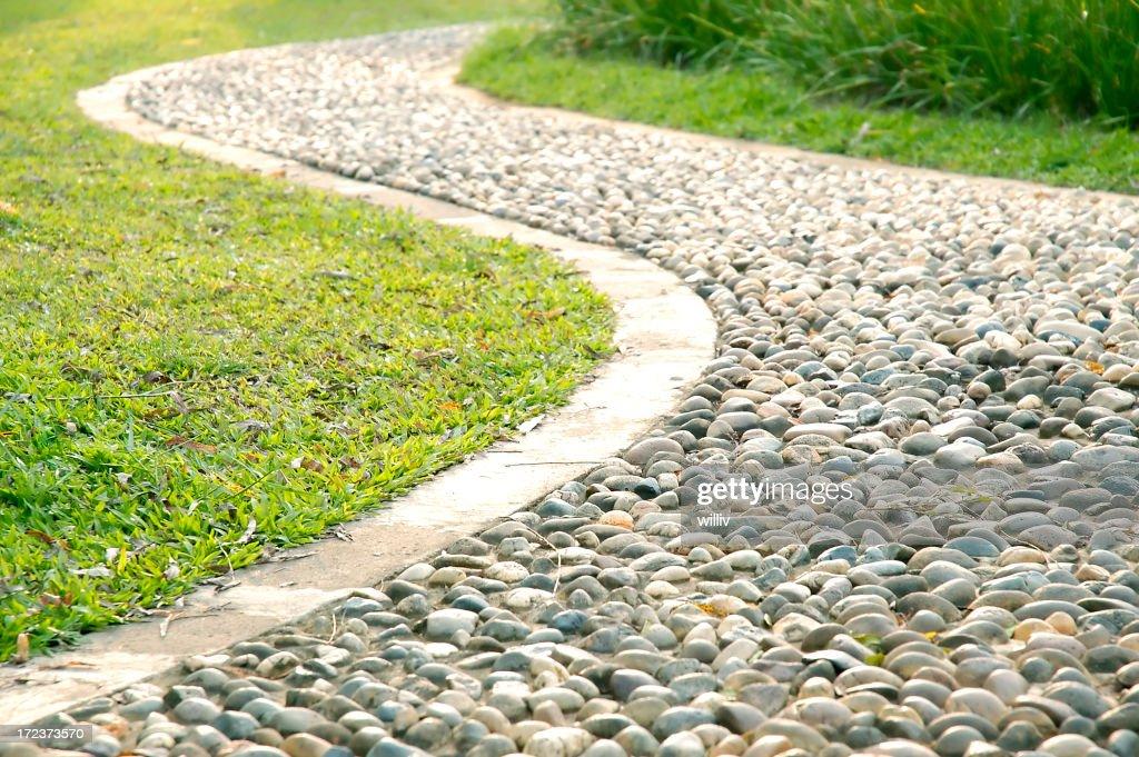 Stoney footpath : Stock Photo