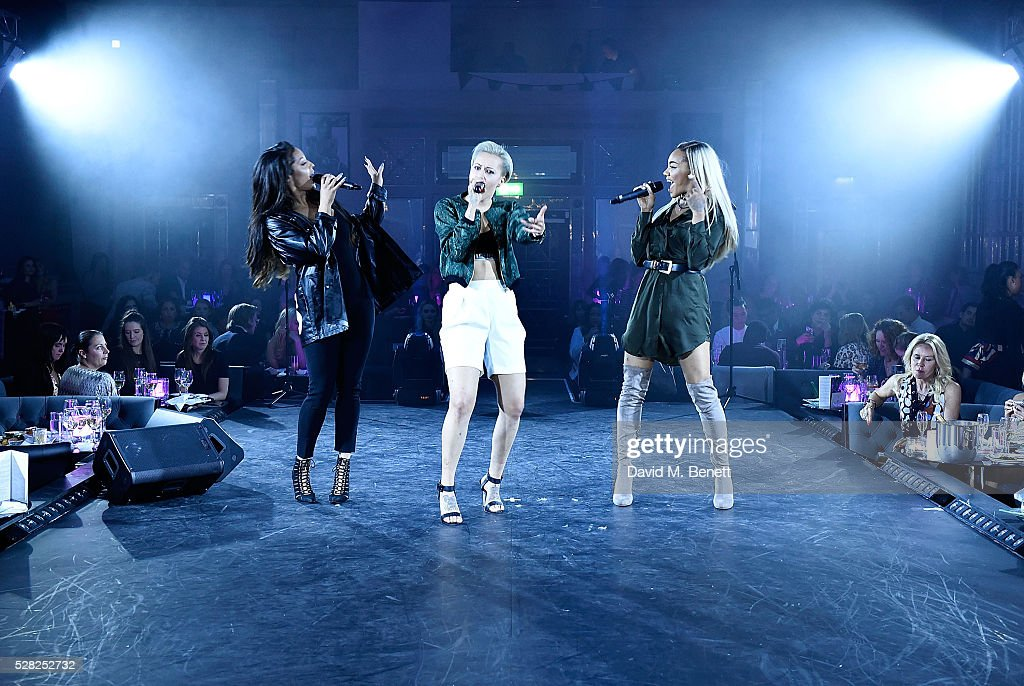 Stooshe perform at The London Cabaret Club launch party at The Bloomsbury Ballroom on May 4 2016 in London England