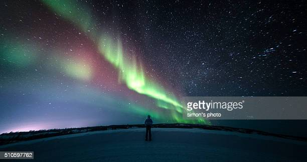 Stop and Stare under the aurora
