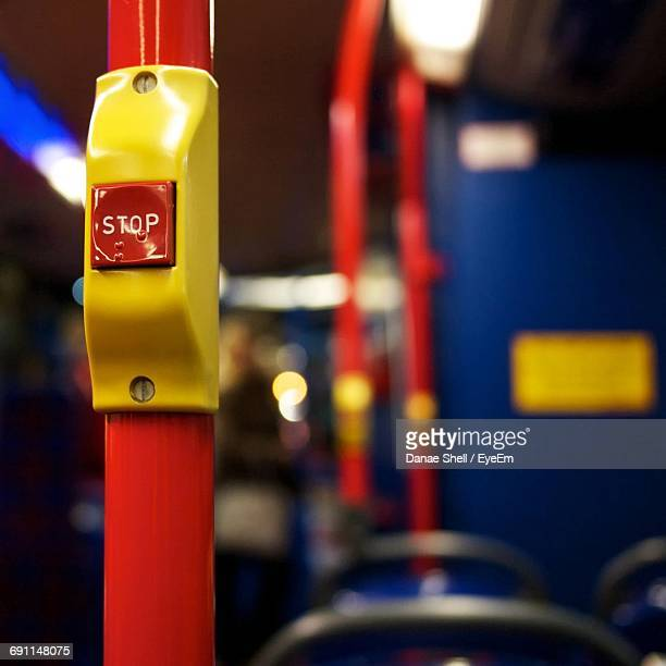 Stop Button In Bus