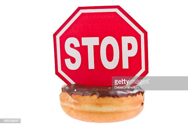 Stop mangiare Doughnuts