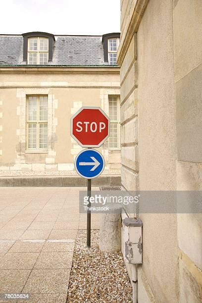 Stop sign, Paris