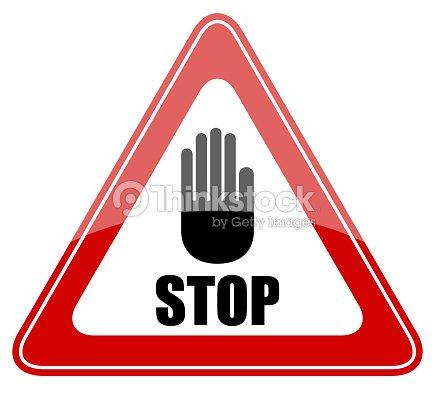 Panneau stop photo thinkstock - Prix d un panneau stop ...