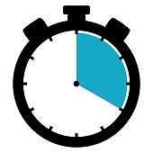 Stoppwatch icon: 20 Minutes 20 Seconds 4 hours