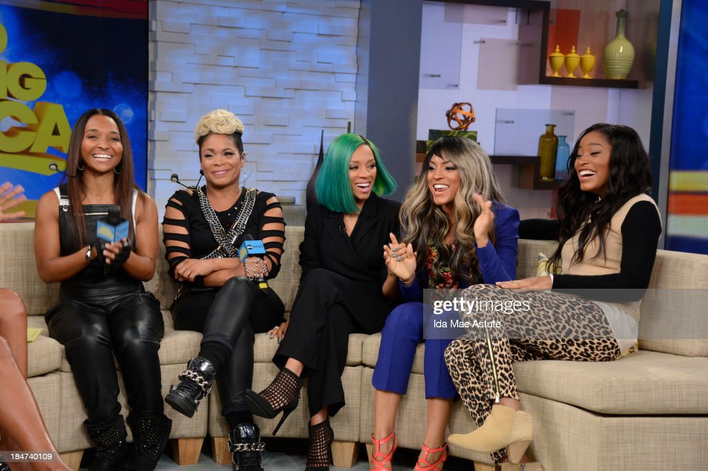 AMERICA - TLC stops by for an interview and a performance on GOOD MORNING AMERICA, 10/15/13, airing on the ABC Television Network. (Photo by Ida Mae Astute/ABC via Getty Images) TLC