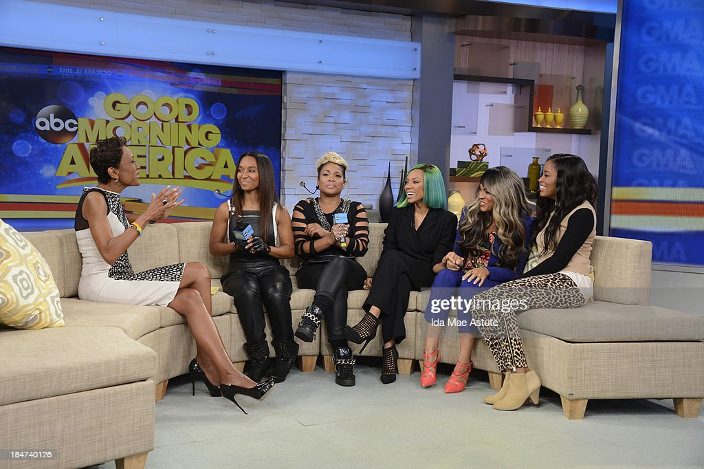 AMERICA - TLC stops by for an interview and a performance on GOOD MORNING AMERICA, 10/15/13, airing on the ABC Television Network. (Photo by Ida Mae Astute/ABC via Getty Images) ROBIN