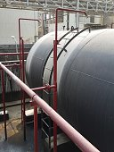 Storage bunker- c tank  inside the used oil room, and that tank was also heated by steam and have explosion proof equipment  for  valve,motor, pump and fire protectionStorage bunker- c tank  inside th