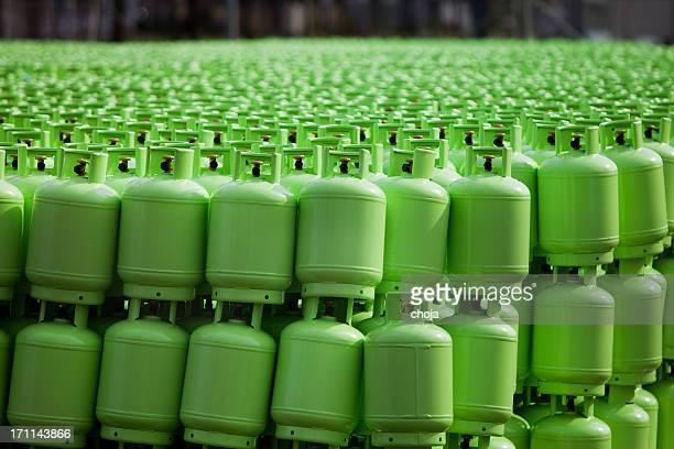Stockage des bouteilles de gaz butane
